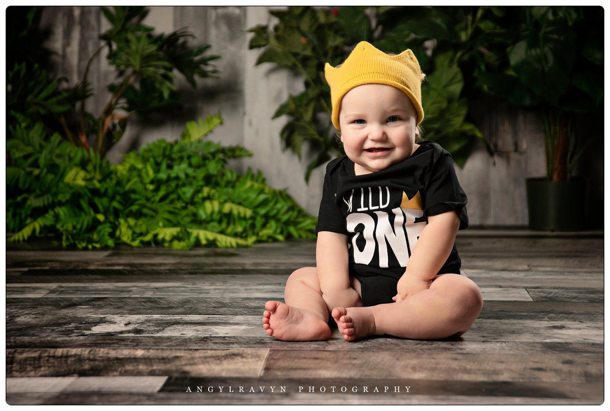 cute baby wild one